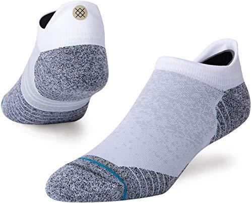 Stance Men's Low Sock Run TAB ST, White, Medium