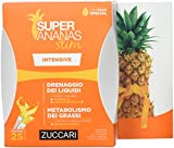 Zuccari - Línea Super Ananas Slim - Drenaje intensivo - Ayuda la eliminación de líquidos - Cantidad 25 sobres