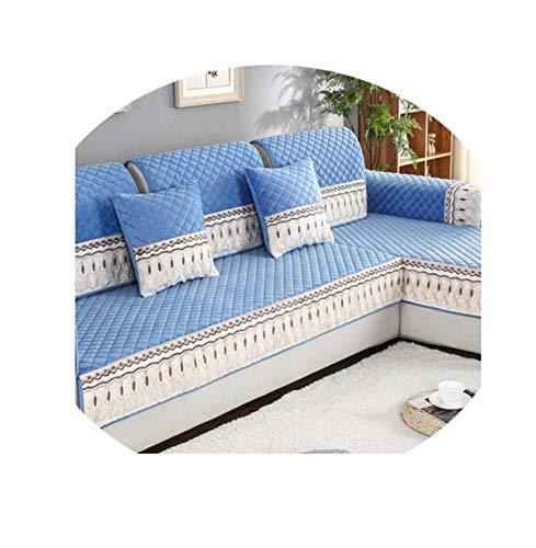 Plush Sofa Cushion, Winter Non-Slip Cushion, Simple Modern Sofa Cushion Sofa Cover