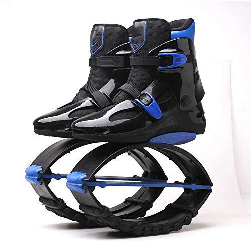 HLDUYIN Varón Adulto Femenino Kang Saltos De Los Zapatos Corrientes Botas Antigravedad Que Despiden Los Zapatos del Peso Que Saltan Los Zapatos De Rebote,39/41