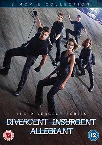 Divergent/Insurgent/Allegiant [DVD] [2016] UK-Import