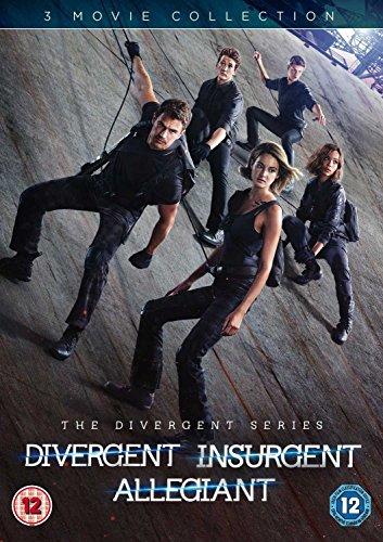 Divergent /Insurgent /Allegiant (3 Dvd) [Edizione: Regno Unito] [Edizione: Regno Unito]