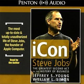 iCon Steve Jobs audiobook cover art