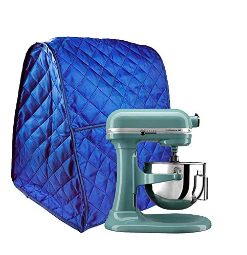 Hoocozi Stand Mixer Cover Dust-proof Waterproof Universal Cover Fit for All the Kitchenaid Mixer, Organizer Bag Included (Blue)