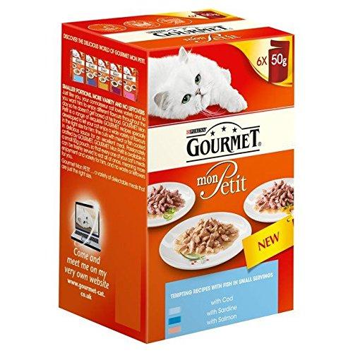 Gourmet Mon Petit Océan Pack Variété Mixte 6 X 50G (Lot de 4)