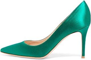 f406c9d84ab6dc EDEFS Escarpins Femme - Chaussures à Talons Hauts - Bout Pointu fermé - Classique  Bureau Soiree