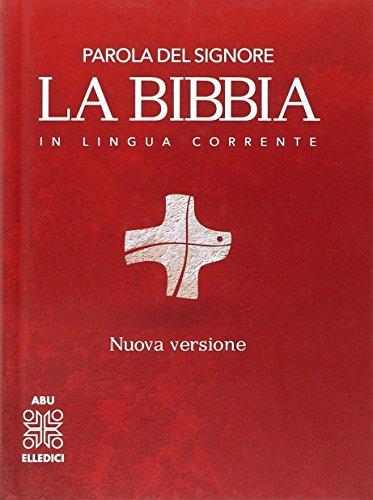 La Bibbia in lingua corrente. Media cartonata