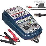 Optimate TecMate 7 Select, TM-250, Chargeur-Mainteneur-Récupérateur de batterie étanche 12 V 10 A en 9 étapes