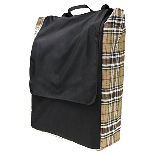 All-Around 600D Rip-Stop Nylon Horse Blanket Storage Bag by Kensington — 13x10x2 Waterproof Dust-Proof Storage Bag With Extra Strong Handles — With Breathable Textilene Sides to Keep It Mildew-Proof