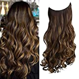 REECHO Halo Hair Extensions with Invisible...