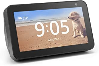 Certified Refurbished Echo Show 5 – Compact smart display with Alexa - Charcoal
