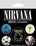 Nirvana BP80620 Aufkleber, Mehrfarbig, 10 x 12.5 cm