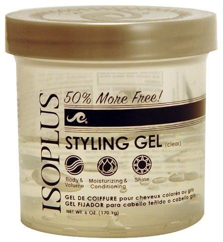 Isoplus Styling Gel Clear Bonus, 6 Ounce