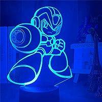 Tatapai 3Dライトゲームキャラクター3DランプLEDテーブルランプベッドサイドナイトライトタッチセンサーホームデコレーションランプ子供男の子ホリデーギフト