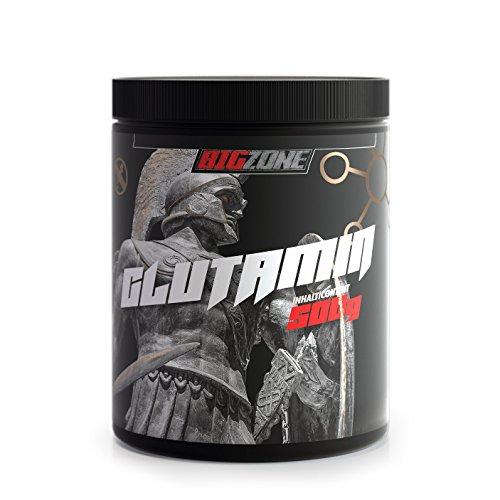 Big-Zone L-GLUTAMIN 100% Pulver hochdosiert - Made in Germany 500g