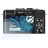 2x lámina protector de pantalla claro Panasonic Lumix dmc-sz10 lámina protectora protector de pantalla