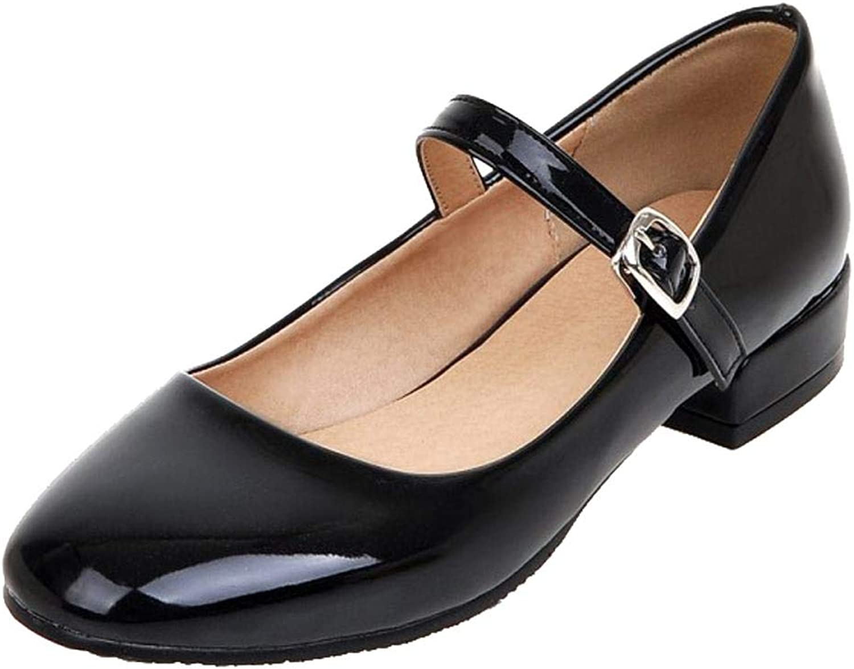 Carolbar Womens Lolita Comfort Mary Janes shoes