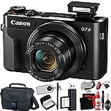 Canon PowerShot G7 X Mark II Digital Camera (International Model) with Extra Accessory Bundle