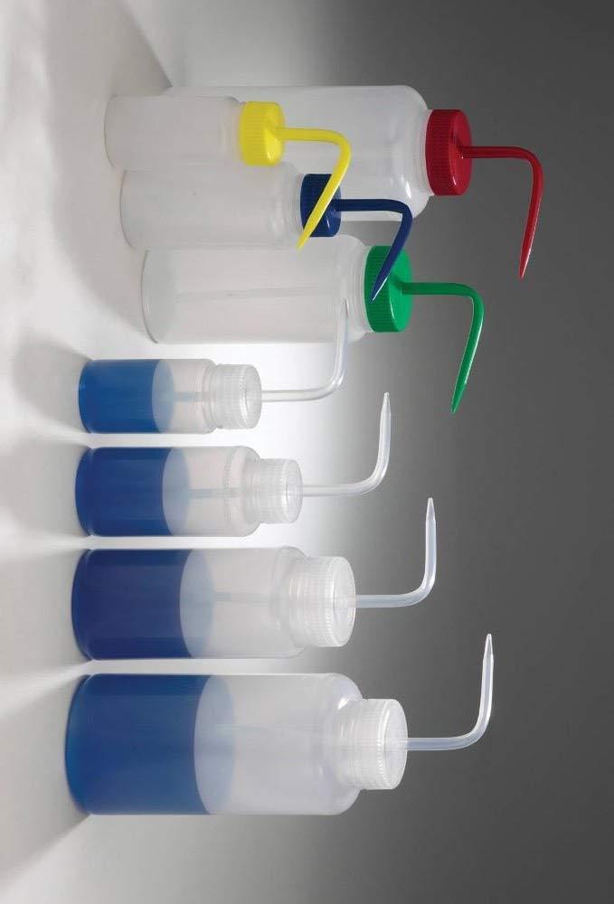 Seasonal Wrap Introduction Bargain Bel-Art Bottle LDPE WASH WM with Yellow Closure - BEL Qty 4