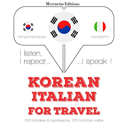 Korean - Italian. For travel cover art