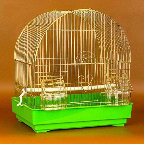NYKK Small Bird Cage/Cottages Bird House Hanging Bird Cage for Small Parrot Conure Finch Canary Budgie Lovebird Bird Cage, Portable Small Sized Birds Travel Cage bird cage/Nest Box Birdhouse Birds