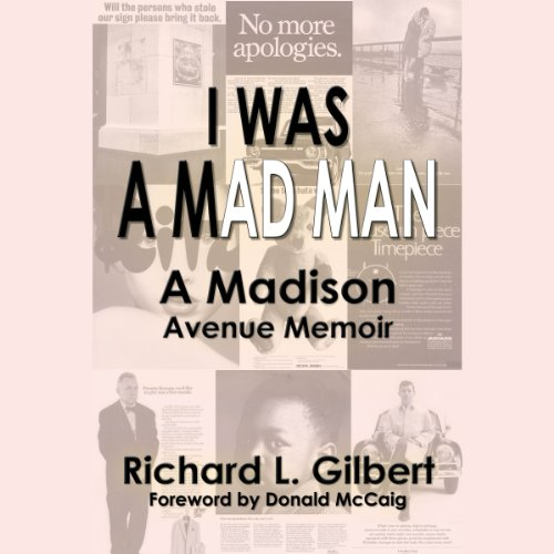 I Was a Mad Man audiobook cover art