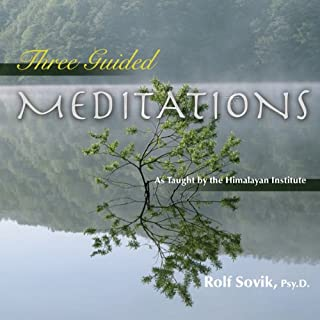 Three Guided Meditations audiobook cover art