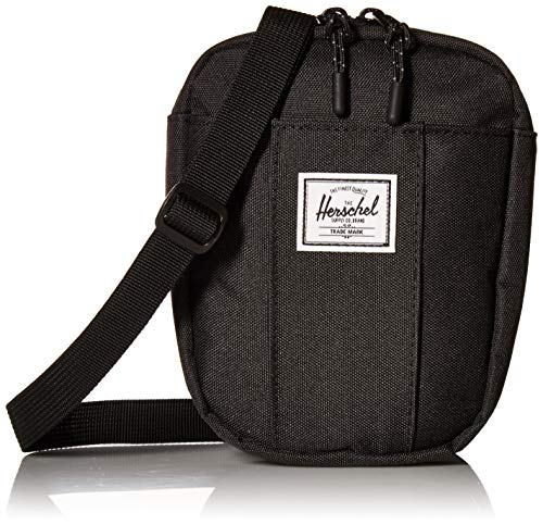 Herschel Unisex-Erwachsene Cruz Umhängetasche, schwarz, Einheitsgröße