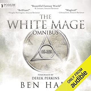The White Mage Omnibus: Books 1-3 cover art