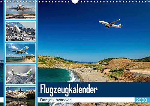 Flugzeugkalender 2020AT-Version (Wandkalender 2020 DIN A3 quer)