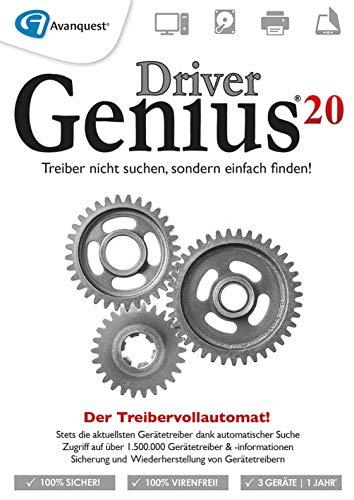 Driver Genius 20 | 20 | 3 Gerät | 1 Benutzer | 1 Jahr | PC | PC Aktivierungscode per Email