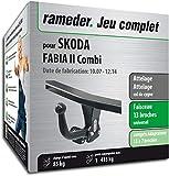 Rameder Attelage démontable avec Outil pour Skoda Fabia II Combi + Faisceau 13 Broches (162375-06395-1-FR)