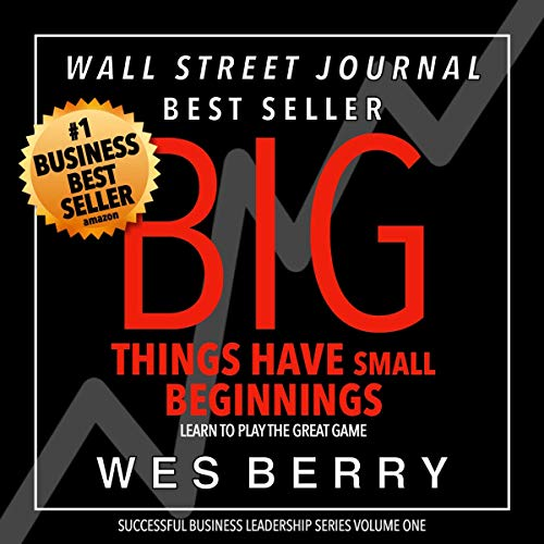 Big Things Have Small Beginnings cover art