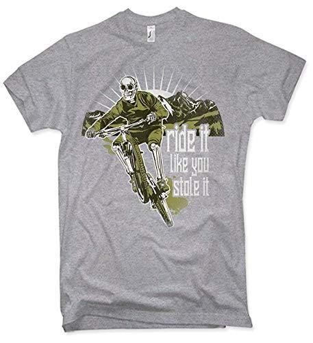 NG articlezz – Ride It Like You Stole It Camiseta – Bici