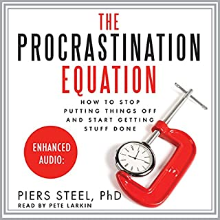 The Procrastination Equation audiobook cover art