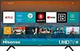 Hisense H43BE7000 - Smart TV ULED 43' 4K Ultra HD con Alexa Integrada, 3 HDMI, 2 USB, salida óptica y de auriculares, Wifi, HDR, Dolby DTS, Procesador Quad Core, Smart TV VIDAA U 3.0 con IA