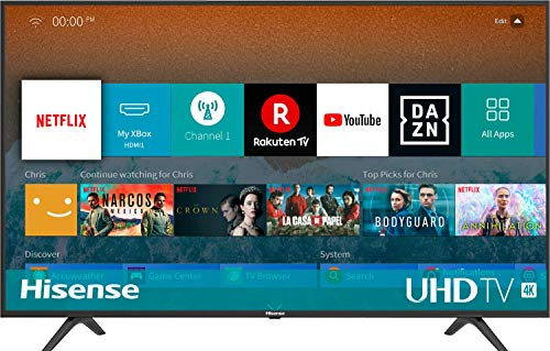 TV 4K HISENSE LED Ultra HD H50BE7000