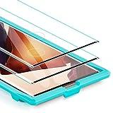 ESR Protector de Pantalla para Samsung Note 20 Ultra 5G[Cubre Completamente ] [2 Unidades] [Cristal Templado ] [Compatible con el Lector de Huellas ultrasónico] para Samsung Galaxy Note 20 Ultra