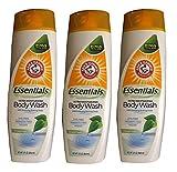 3-Pack Simply Fresh Essentials Ultra Moisturizing Vegan Body Wash
