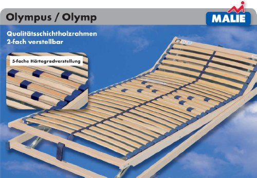 Stilbetten Lattenrost Olympus/Olymp Olymp (nicht verstellbar) 90x220 cm