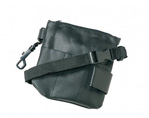 Werkzeugtasche, 17 x 15,5 cm, schwarz, mit Gurt