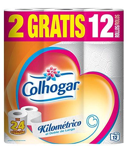 Colhogar papel higiénico Ultra Suave XXL 12 rollos