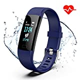 Fitness Tracker, Color Screen Activity Tracker Watch with Heart Rate...