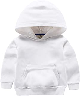 ALALIMINI Toddler Hoodies Pullover Unisex Kids Clothes Spring Cotton Sweat Shirt for Boys&Girls 2T 3T 4 5