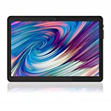 Android Tablet 10.1 inch, Android 10.0 OS, 2 GB RAM, 32 GB Storage, 8MP Rear Camera, Quad-Core Processor, IPS HD Display, GMS Certified, WiFi, Bluetooth, GPS, FM, Black