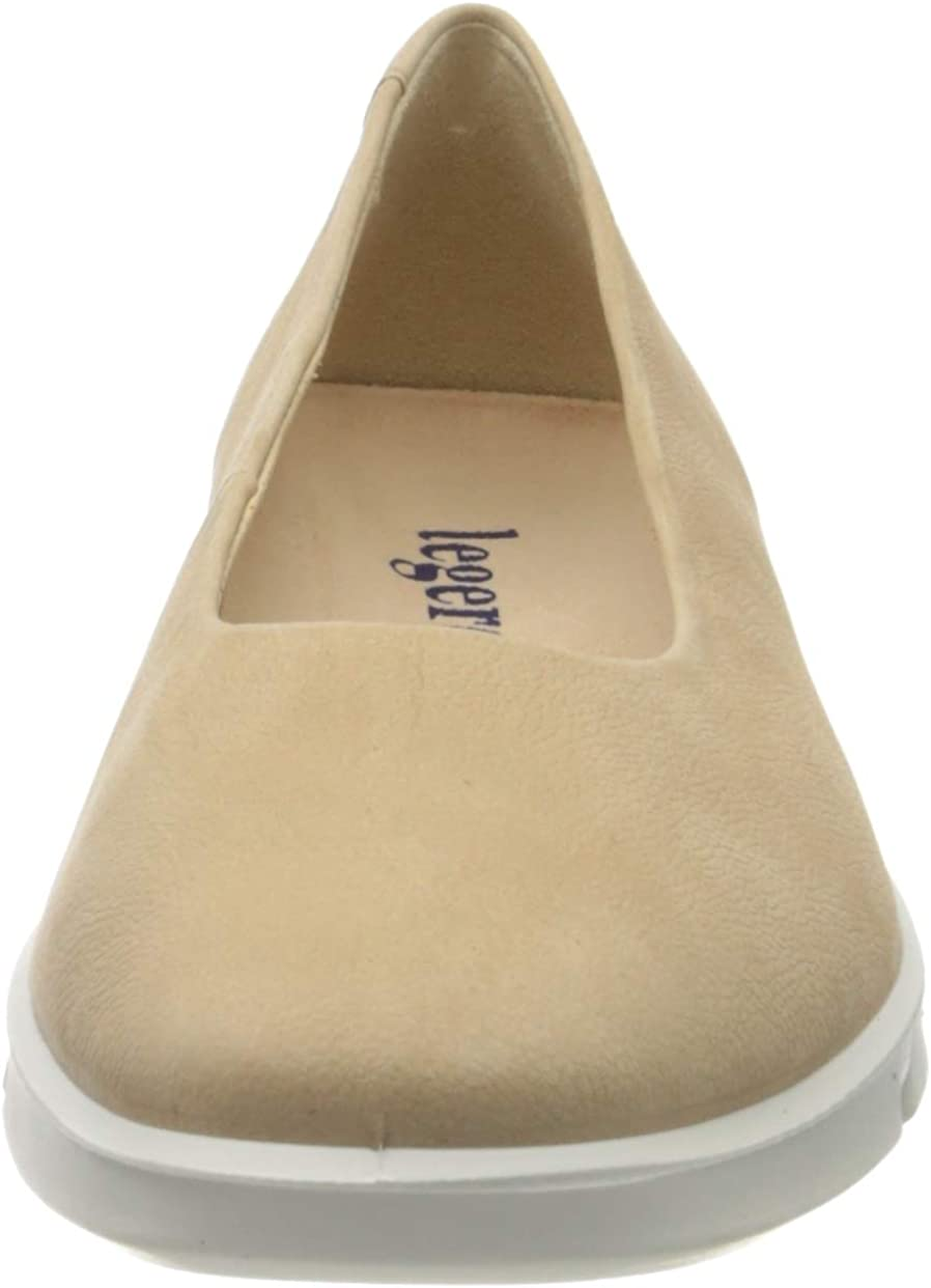 Legero Womens Closed Toe Ballet Flats US 7.5