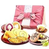 誕生日 の プレゼント 人気商品 おいもや どら焼き お菓子 食べ物 お祝いギフト ギフトセット (ピンク色風呂敷)