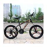 Link Co Bicicleta de montaña para niños Bicicleta 20 Pulgadas 27 Velocidad Choque Hombres y Mujeres Estudiantes Movimiento Coche