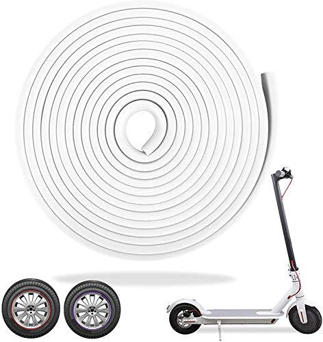 alouweekuky Eléctrico Scooter Tiras Decorativas,Tira Anticolisión Strip,Tira Anticolisión del Cuerpo de Vespa...
