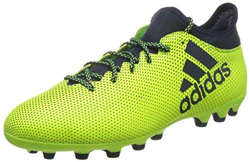 adidas X 17.3 AG, Botas de fútbol para Hombre, Amarillo (Amasol/Tinley/Tinley), 40 EU